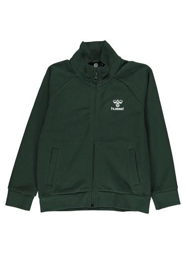 Hummel Hummel 9207806761 Toledo Fermuarlı Cepli Erkek Çocuk Sweatshirt Yeşil